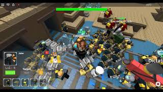Roblox Tower Defence simulator Ending In End of line part 3