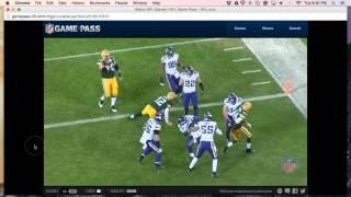 Game View: Vikings 20, Packers 13