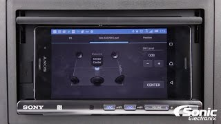 Sony XSP-N1BT Smartphone Cradle Car Stereo | Product Overview