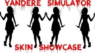 Yandere Simulator Skin Showcase