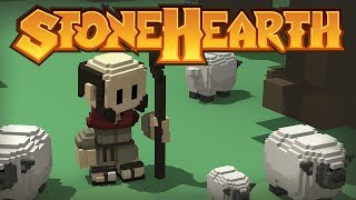 Stonehearth Gameplay - Welcome To Doomedtopia! - PC Gameplay StoneHearth