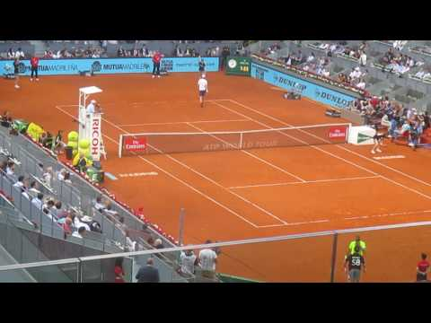 Murray vs Copil Madrid Open 2017 last game
