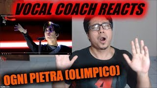 Vocal Coach REACTS to Ogni Pietra (Olimpico) -迪玛希 Dimash Димаш ,29/06 ARNAU concert FANCAM