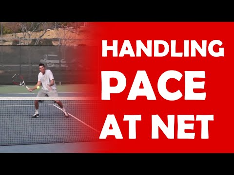 Thumbnail: Handling Pace At Net | DIFFICULT VOLLEYS