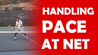 Handling Pace At Net | DIFFICULT VOLLEYS
