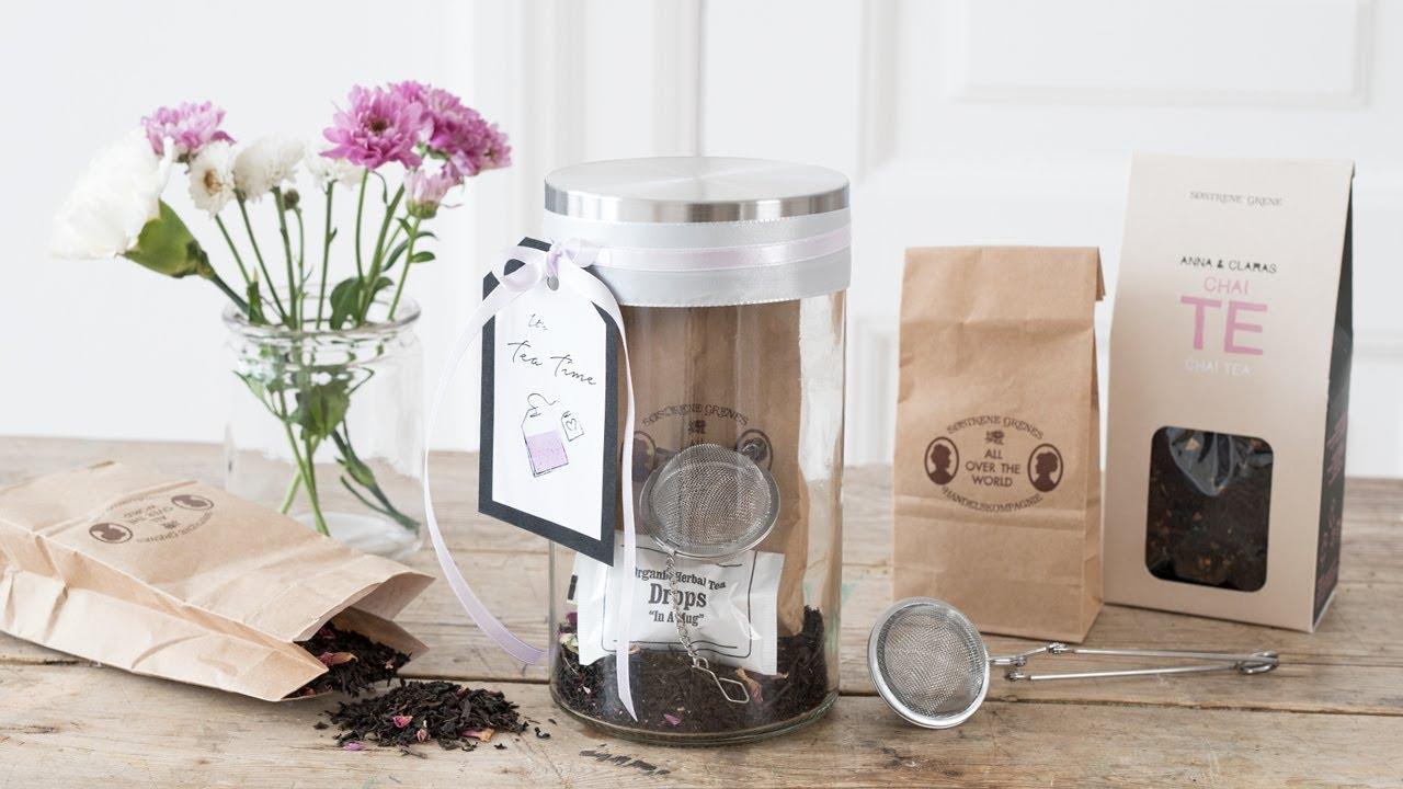 Ein dekoratives Tee-Set