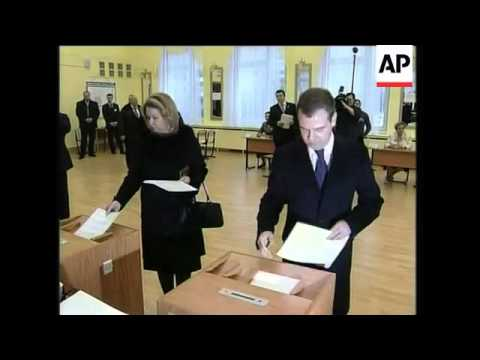 Russia - Presidential elections