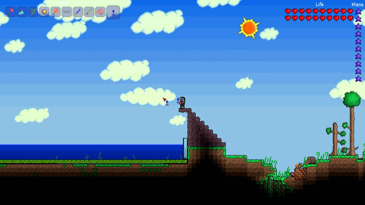 Terraria How to go Fishing Guide