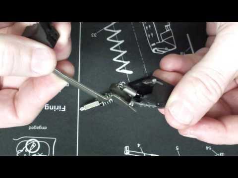 Glock Abzug Tuning / Beschreibung Deutsch Tausch & Einbau der Federn