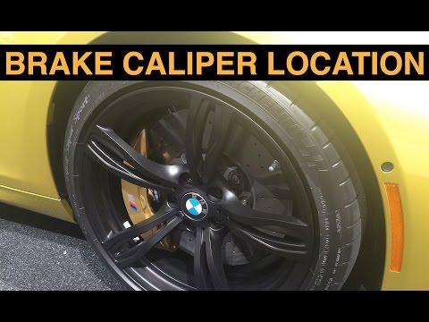 Brake Caliper Location - Explained