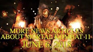More Mortal Kombat 11 News Articles June 6 2018 E3 2018 Variation Returning Wb Games Livestream