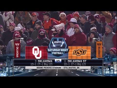 OU vs Oklahoma State 2015