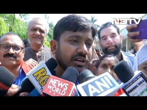 बेगूसराय से CPI प्रत्याशी कन्हैया कुमार ने भरा परचा