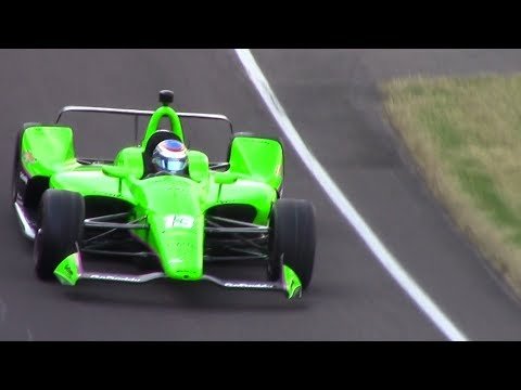 Danica Patrick 2018 Indy 500 -- Run for the Pole! -- PURE SOUND and CROWD REACTION!