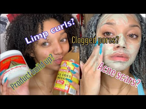 Worlds BEST Hair And Skin Mask | Aztec Clay Mask Changed My Hair!!!