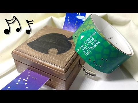 ♬ Animal Crossing: New Leaf Theme on Music Box ♬