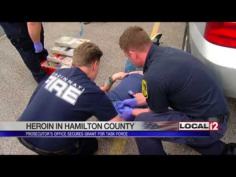 Hamilton County Prosecutor's Office secures $100K grant for heroin task force