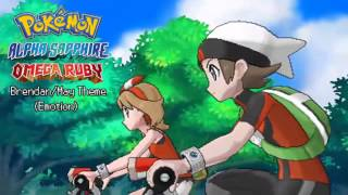 Pokémon Omega Ruby & Alpha Sapphire Soundtrack - Brendan/May Theme (Emotion)