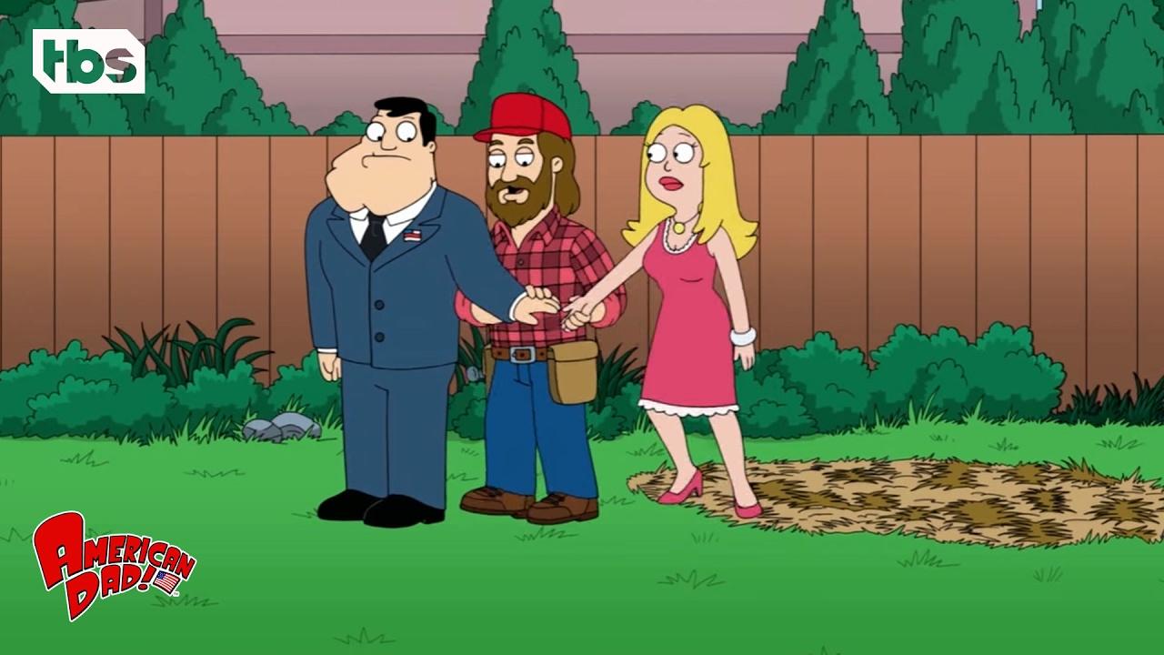 Download American Dad: Jesus Gardener (Season 10 Episode 10 Clip)   TBS