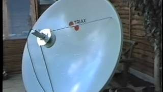 C Band Satellite Setup mid 90s