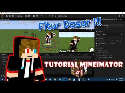 Cara Membuat Animasi Dari Mineimator | Tutorial Mineimator Part #1