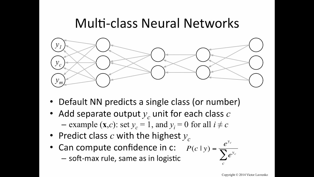Neural Networks 12: multiclass classification