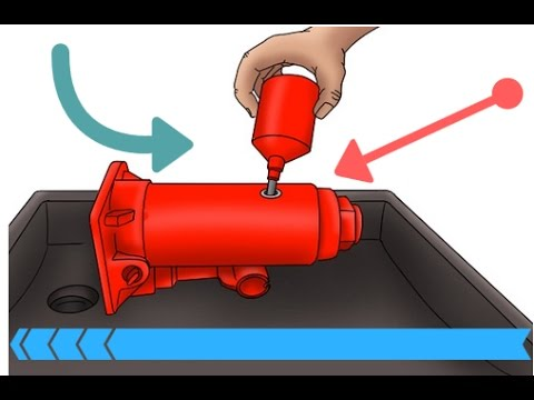 how to add oil to a hydraulic bottle jack