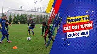 Buổi tập đầu tiên của U.19 Việt Nam trước cúp Tứ Hùng 2018 tại Qatar   VFF Channel