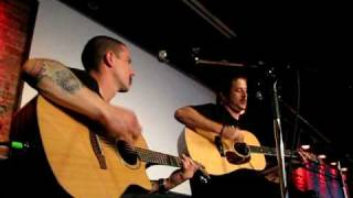 Tony Sly (No use for a name) Acoustic - Not your savior (Montréal, Foufounes Électriques)