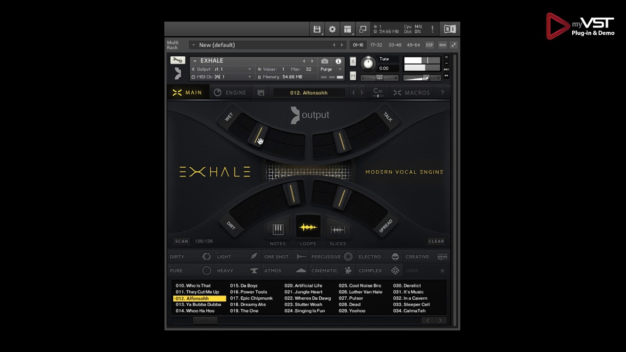 Exhale Vocal Engine VST KONTAKT Library Download