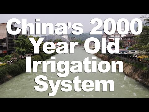 China's Incredible 2000 Year Old Irrigation System // This is China