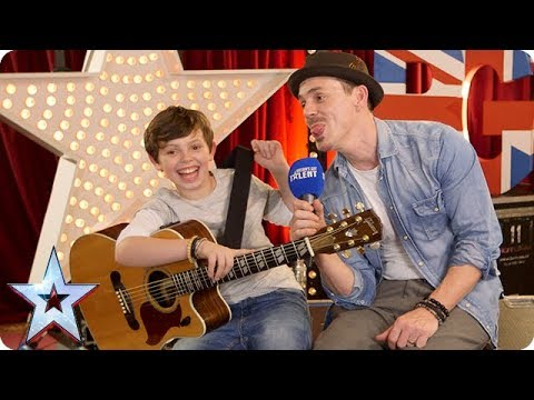 Quickfire Questions with Golden Buzzer act Jack and Tim | BGT 2018