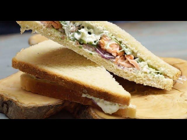 Izgara Somonlu Sandviç Tarifi, Nasıl Yapılır?