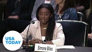 Simone Biles and other gymnasts testify before the Senate on Nassar investigation   USA TODAY