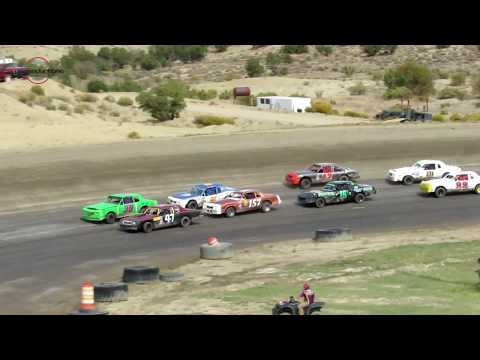 Desert Thunder Raceway Hobby Stock Main Event 9/29/18-Day Race