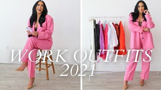 WORK CLOTHING HAUL! ASOS, ZARA, F21 WFH OUTFITS