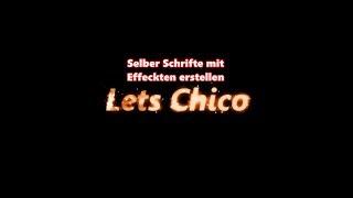 Kostenlos sein Youtube Logo und Banner erstellen - Schrifte erstellen mit Effekte Tutorial Deutsch