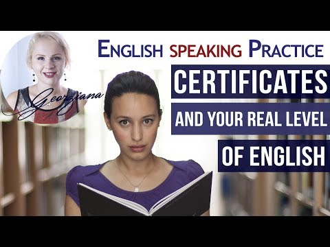 English Certificates - What's your Real Level of English - English Storytelling