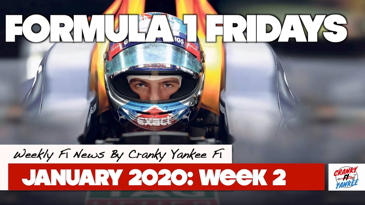 Formula 1 Fridays: Verstappen, 2020 Tyre Trouble, & Should We Worry About 2021? (JANUARY 2020 WK