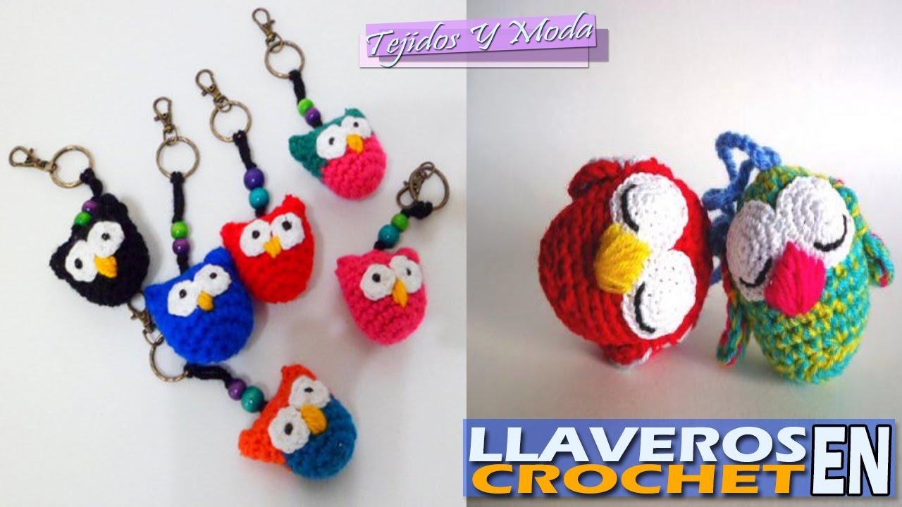 Llaveros Hermosos Para Negocio - Tejidos a Crochet - YouTube