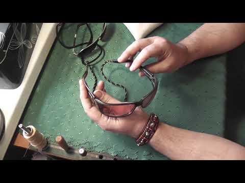 Шнурок для очков на шею своими руками
