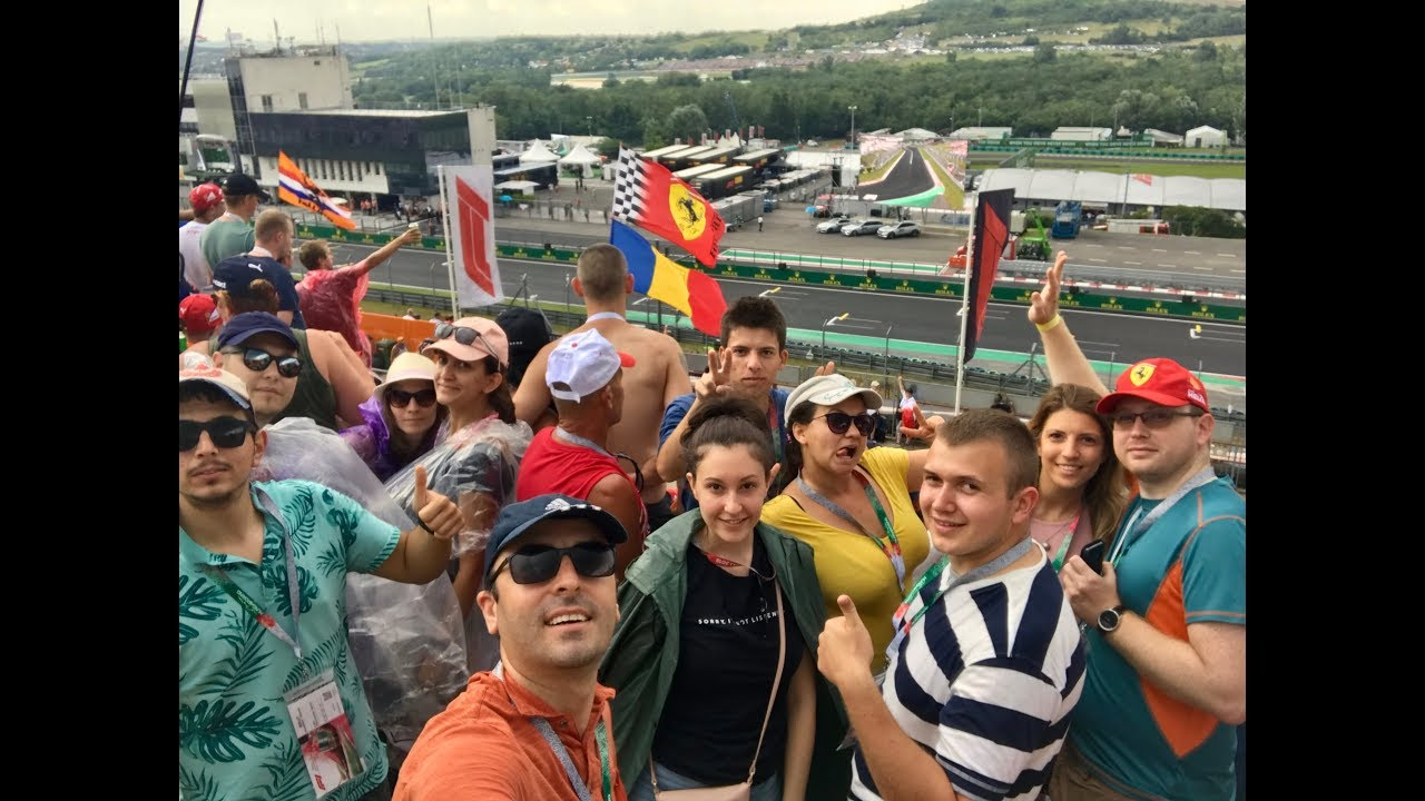 formula 1 vlog - hungaroring, budapest 2018