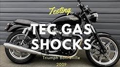 Tec Gas Shocks test & review