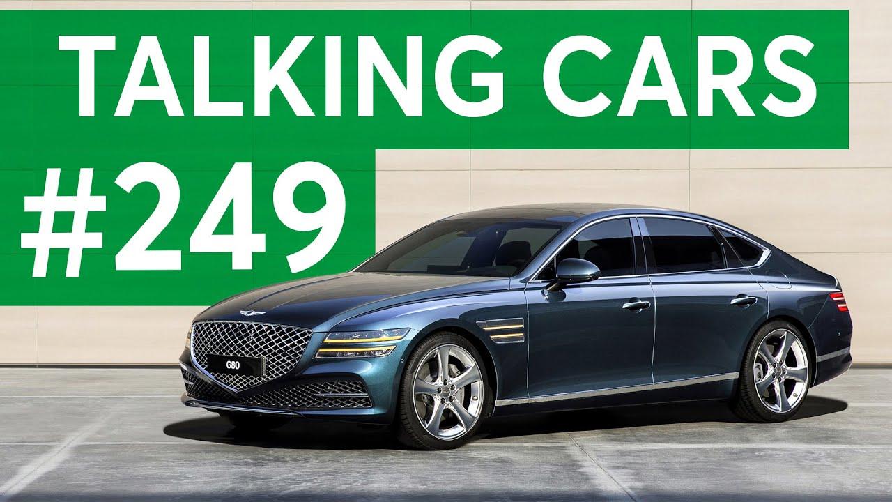 2021 Genesis G80 Debut; Coronavirus Car Seat Care | Talking Cars with Consumer Reports #249