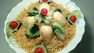 Egg briyani recipe bangla/Bangladeshi egg briyani.