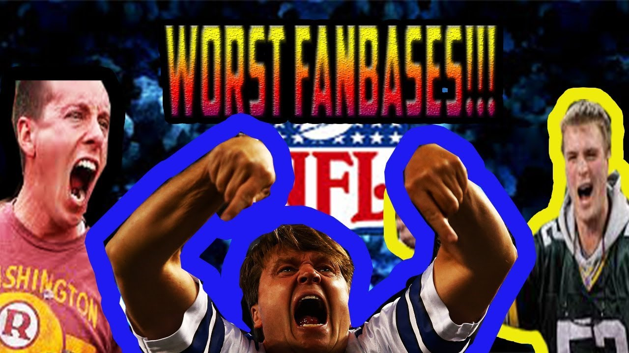 8a1fb7ac3 5 WORST NFL FAN BASES!!! (MOST ANNOYING) - YouTube