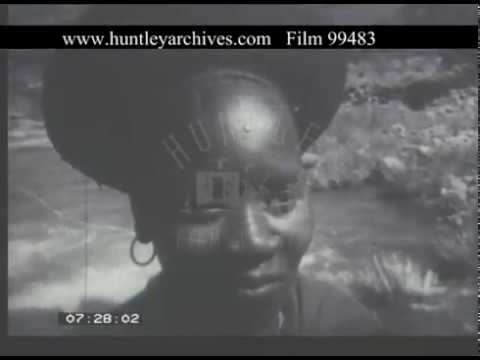Zululand South Africa, 1940s - Film 99483