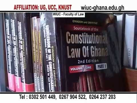 Wisconsin International University College, Ghana - Law program