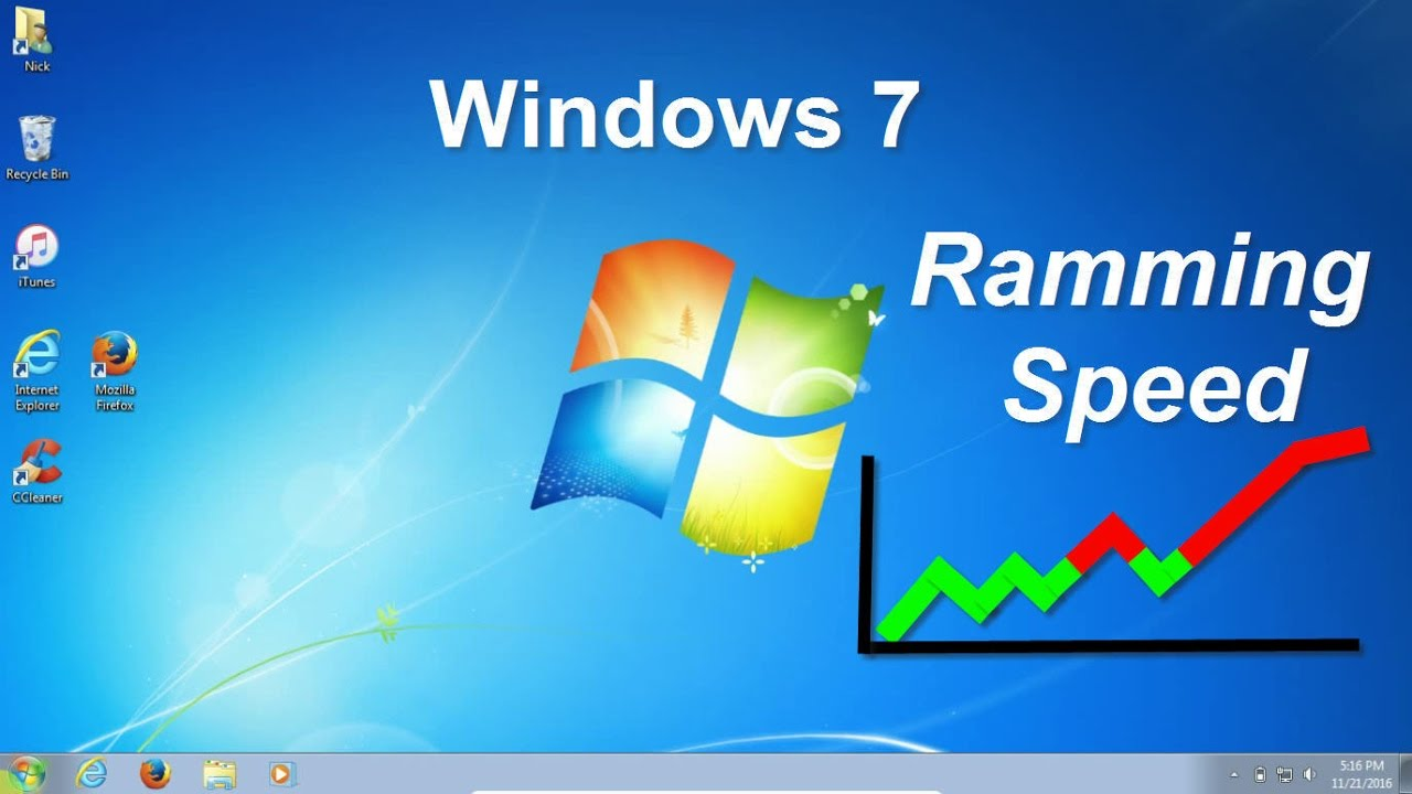 How to make Windows 7 Faster - Faster Gaming 2016/2017 - Free ...