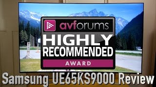 Samsung UE65KS9000 4K HDR TV Review